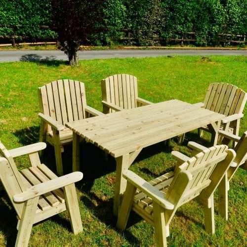 7 Piece Outdoor Dining Set