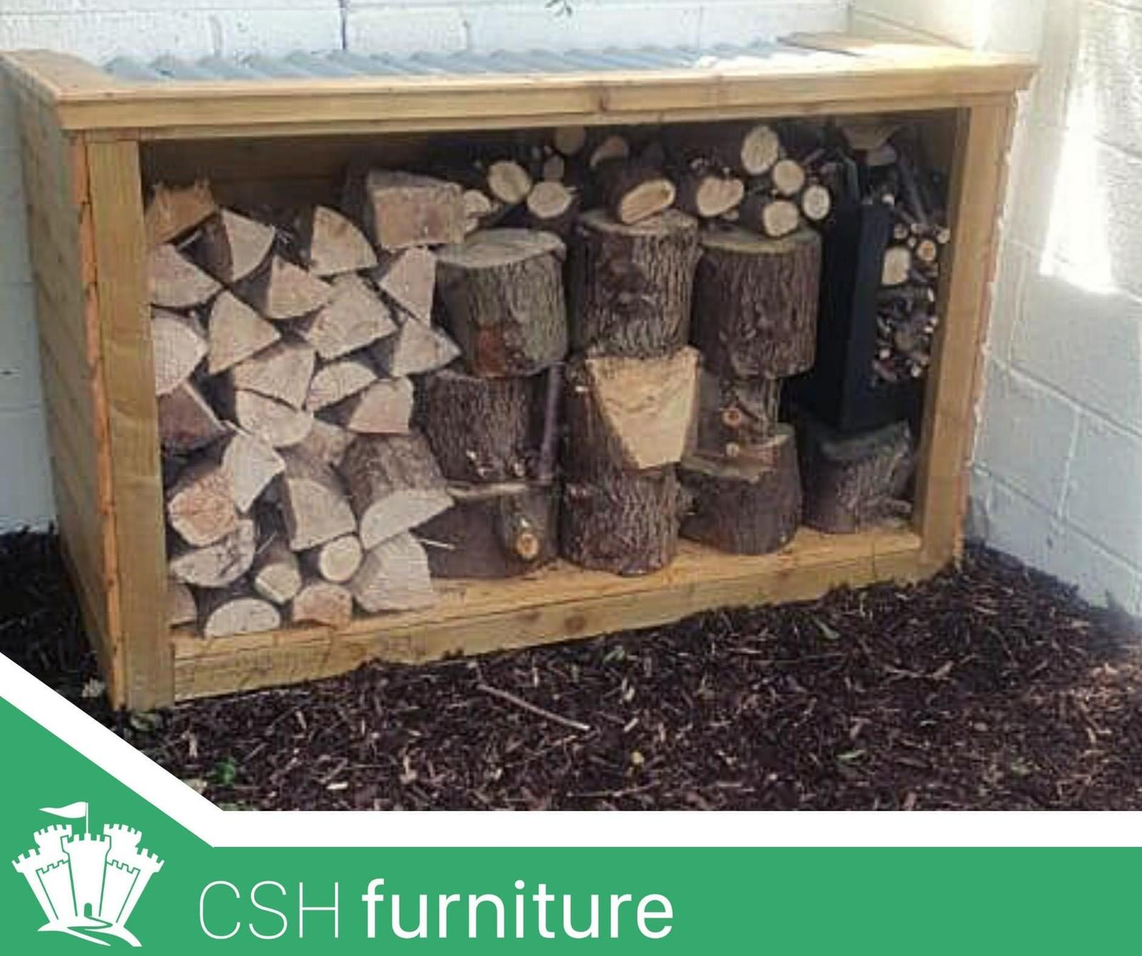 Custom Storage Unit - Pressurised Timber Frame